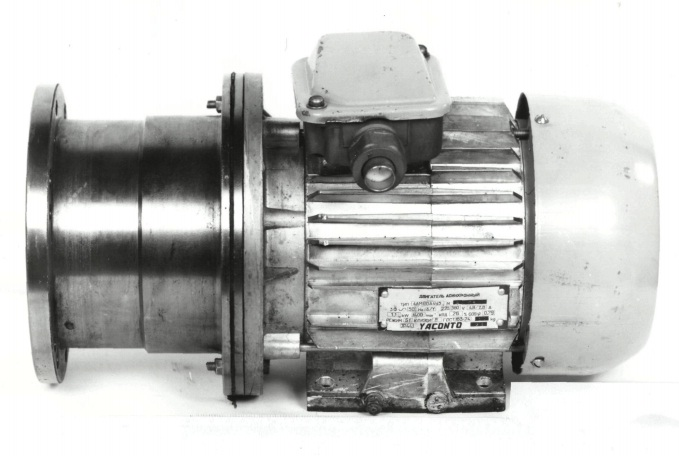 YACONTO induction motor fabriqued in 1990s